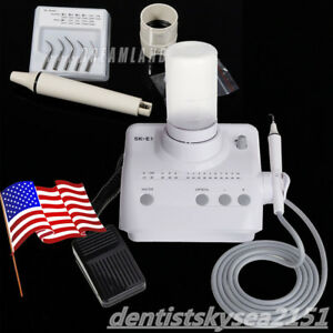 Auto Water Dental Ultrasonic Scaler Scaling Cleaning Teeth Device Machine F Cy