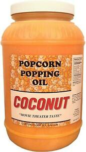 Paragon Manufactured Fun Coconut Popcorn Popping Oil gallon