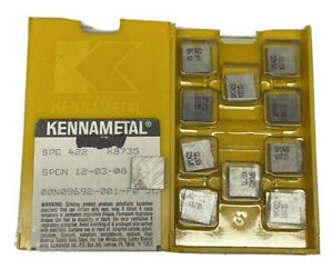 Kennametal Spc 422 K8735 Ground Sharp Carbide Inserts