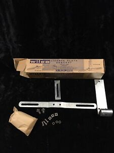 1930s 1940s Chevrolet Pontiac Oldsmobile Buick License Plate Bracket Nos