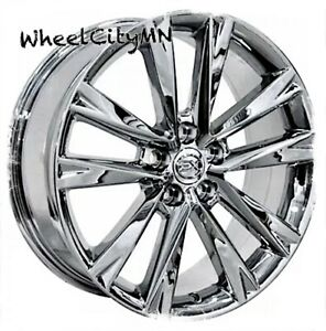 19 Inch Chrome Fits Lexus Rx F Sport Oe Replica Wheels Fits Toyota Camry 5x4 5