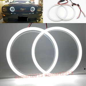 Cotton Led Halo Rings For Ford Mustang Gt 05 14 Car Fog Light Angel Eye Lamp Drl