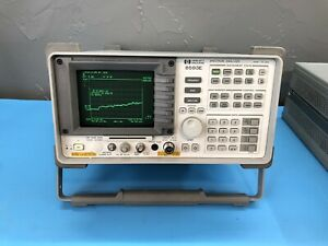 Hp Agilent 8593e Spectrum Analyzer Calibrated With Certificate Custom Opts