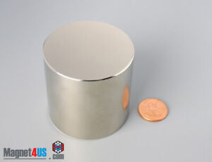 1pc 2 x 2 50mmx 50mm N45 Super Strong Disc Rare Earth Neodymium Cylinder Magnet