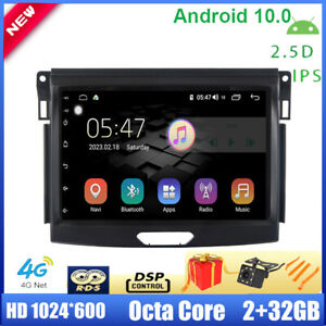 9 Android 10 0 Car Stereo For Ford Ranger Everest 2015 2017 Navi Dsp Octa Core