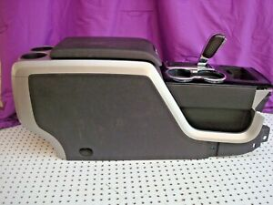 Oem 09 14 Ford F 150 Center Floor Console Complete Set Shipping