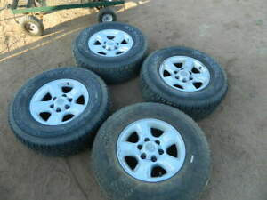 Toyota 6 Lugs Truck Suv Wheels And Tires 16 Inch 16 265 70 R16 Great Tires