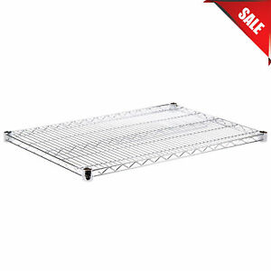 Regency 24 X 36 Nsf Chrome Wire Shelf Replacement Additional Vented Rack Metal