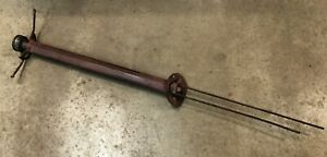 Model T Early Years Steering Column Tube W Spark Gas Rods For Parts