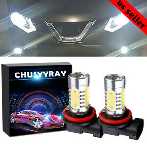 Para Bmw E90 325328 335i Kit H11 H9 H8 Proyector Led Faros Antiniebla Blanco 2pc
