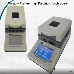 Electronic Moisture Analyzer High Precision Touch Screen