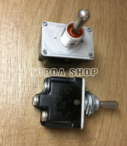 1pc Ms27407 5 For Honeywell 6 pin Second Gear Waterproof Toggle Switch