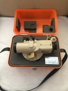 Pentax Al 6b Optical Automatic Level Surveying Equipment No 550444