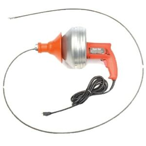 General Wire Super vee Drain sewer Cleaning Machine W 25 X 1 4 Cable sv f