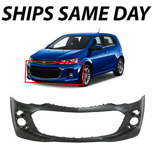 New Primered Front Bumper Cover For 2017 2020 Chevy Sonic Sedan Hatch Rs 17 20