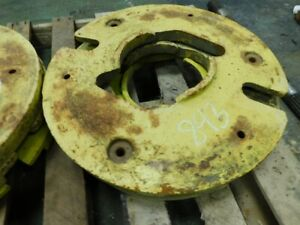 John Deere Tractor Wheel Weight Part a3404 Tag 843