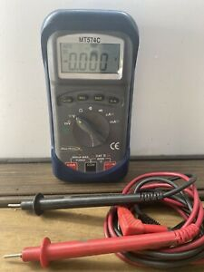 Pre owned Auto Ranging Digital Multimeter blue point Model Mt574c