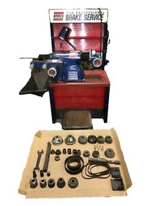 Ammco 4000 Disc And Drum Brake Lathe W Stand Tools Auto Lt Import Shafts