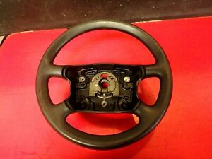 1999 99 Vw Golf Gti 4 Spoke Steering Wheel Black Leather Oem