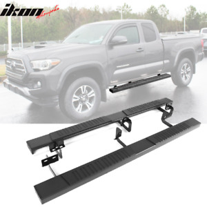 Fits 05 19 Toyota Tacoma Extended Cab Running Boards Side Step Bar 69 Pair