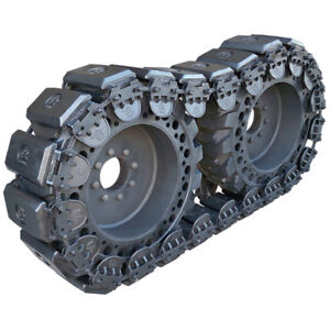 Prowler 10 Inch Stealth Rubber Skid Steer Over The Tire Tracks Ott 10x16 5