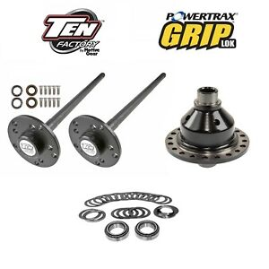 Super 35 Axle Kit Grip Lok Locker 1991 2006 Jeep Yj Tj Xj Zj W Dana 35 Rear