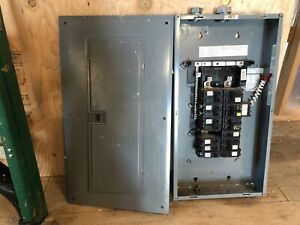 Square D Homeline 20 space Load Center Breakers
