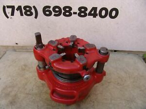 Ridgid 141 Die Pipe Threader 2 1 2 To 4 For 300 535 Threading Mint Condition 2