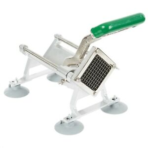 3 8 Heavy Duty French Fry Cutter Potato Slicer Manual Commercial Suction Cup