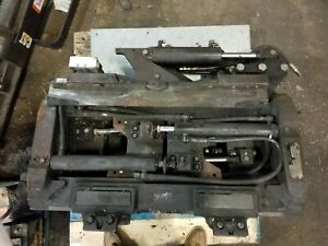 Used Cascade Side Shift Fork Positioner Attachment Class 2