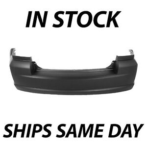 New Primered Rear Bumper Cover Replacement For 2007 2012 Dodge Caliber 07 12