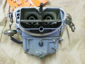 1968 C3 Corvette Tripower Holley Carb List 4056 1 1633 Gm 3940930 Em Restored