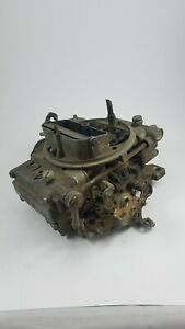 Holley List 6619 4160 Series 600 Cfm Carburetor 70 72 Gmc Parts Or Rebuild