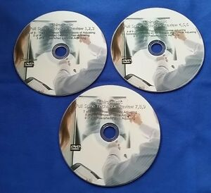 Chiropractic Spine And Extremity Dvds 6 Dvds 2cds Plus 2 Thomsson Drop Dvds