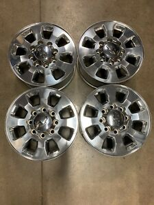 18 Chevrolet 2500 3500 Hd Oem Truck Chevy Stock Wheels Rims Center Caps Tps
