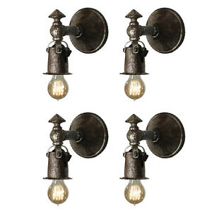 Matching Antique Cast Iron Tudor Sconce Pairs 1 Pair Available Nsp1518