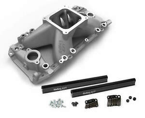 Holley Efi High Rise Intake Manifold Oval Port For Chevy Big Block V8 Engine