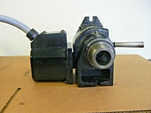 Haas 5c 7 Pin Rotary Indexer 4th Axis Manual Closer Tested Good