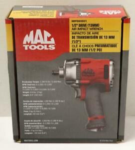 New Mac Tools Mpf980501 1 2 Drive Air Pneumatic Impact Wrench