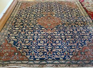 6 X 6 5 Antique Oushak Tribal Kazak Vintage Hereke Serapi Turkish Heriz Kula