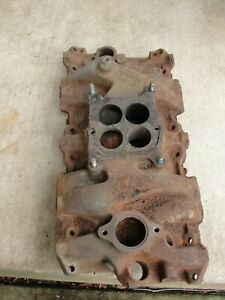 1966 Corvette Chevelle 300 325 Hp 327 Engine Intake Manifold 3844459 B 10 6