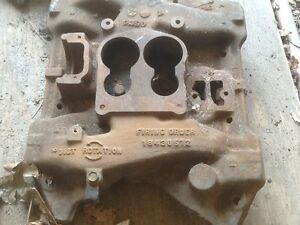 Dodge Chrysler Plymouth Mopar 440 Cast Iron Intake Maifold 4 Barrel Charger Gtx