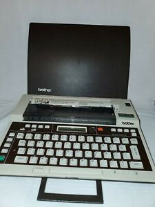 Brother Ep 20 Typewriter With Two Ribbons Thermal Printer Vintage