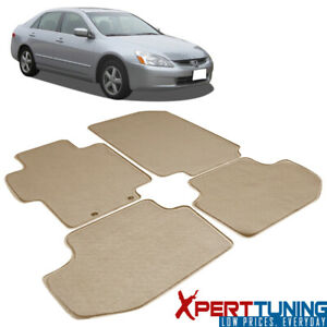 Fits Honda Accord Floor Mats Carpet Front Rear Full Set With Optional Colors