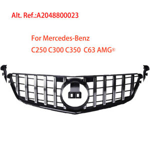 For Mercedes Benz W204 C250 C300 C350 Front Front Grille Kit Gtr 2048800023