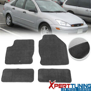Fits Ford Focus Floor Mats Carpet Front Rear Full Set With Optional Colors