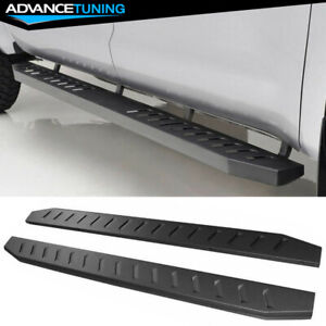Fits 02 09 Dodge Ram 1500 2500 3500 Quad Cab Running Boards Side Step Bar Pair