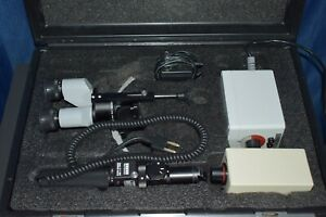 Zeiss Hso 10 Portable Slit Lamp With Carrying Case Battery Pack