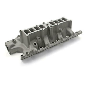 Speedmaster Intake Manifold Pce148 1023 Qualifier Efi Multi port Satin For Ford