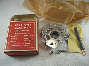 New Dual Points Ball Bearing Assemble Dyna flyte 208 d Ford Mercury Lincoln V 8